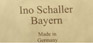 Ino Schaller Bayern