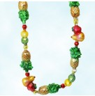 Colonial Bounty Garland, Radko Ornaments, 2003, 1010492, Fruit, Pineapple, pear, apple, lemon, lime, Christmas, AS IS