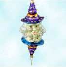 Good Witch or Bad Witch - Halloween, Radko Christmas Ornaments, 2000, 00-119-0, Two faced, Christopher, Mint with Tag