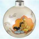 Disney's Aladdin, Schmid Christmas Ornaments, 1993, 42143, American, Jasmine, Prince Ali, magic carpet, Mint with Tag, Box