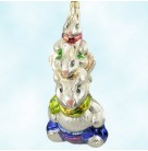 Hop On Top - Easter Bunny Totem Pole, Radko Christmas Ornament, 1998, 98-280-0, Rabbits, Spring, Mint