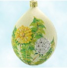 Dandelion Egg - Glittered, Patricia Breen Christmas Ornaments, 2006, 2600NM, Neiman Marcus, bejeweled, Easter, Mint With Tag