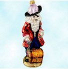 Skull Duggery - Pirate Captain, Radko Christmas Ornament, 2000, 00-308-0, Pirates of Caribbean, Mint With Tag