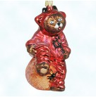 You Little Devil, Radko Christmas Ornaments, 1999, 99-065-0, Halloween, bear, spider, pitch fork, trident, Pumpkin, Mint With Tag
