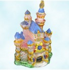 Sleeping Beauty Jeweled Castle - Disney, Radko Christmas Ornaments, 2005, 3011088, Disneyland 50th, limited 1955, Mint with Tag