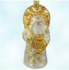 Roosevelt Santa - Pearl, Patricia Breen Christmas Ornaments, 2001, 2126, Carrying teddy bears, gifts, animal, Mint with Tag