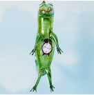 Time For A Bite - Peter Pan, Radko Christmas Ornaments, 1996, 95-251-1, Italian, Crocodile, Clock on stomach, Mint in Box