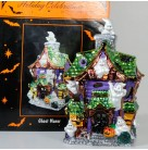 Howl Manor Ghost - Ceramic Lighted House, Radko Holiday Creations, 2000, 054211141,  Halloween, Mint in Box