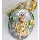 Saint Christopher, Patricia Breen Christmas Ornaments, 1999, B9926, 2 part, Ltd 500, 4th in Fine Arts Series, Mint with Tag