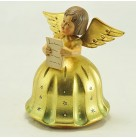 Angel Music Box - When You Wish Upon A Star, Anri, 1958, Reuge Swiss movement, Golden dress, sings using score sheet, Excellent vintage condition