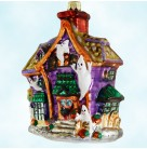 Howl Manor - Halloween, Radko Christmas Ornaments, 1999, 99-299-0, Haunted house, ghost, Mint with Tag, Box