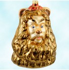 Wizard of Oz Cowardly Lion - Bus, Polonaise Christmas Ornaments, 1998, AP821, Bust, Bert Lahr, MGM, Cowardly Lion, 1939, Mint in Box