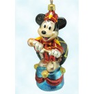 Mickey Mouse Club - Mickey's 70 Happy Years Anniversary Set, Christopher Radko Christmas Ornaments, 1998, 98-DIS-48, Disney, Mint