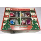 Classic Shimmer - Fantasia Reflector Drops Set of 6, Christopher Radko Christmas Ornaments, 2001, 01-1095-0, Multicolored, Mint in Box