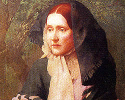 Picture of activist, poet, feminist Julia Ward Howe