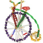 Radko Beaded Bicycle