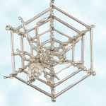 Radko Webutante Spider Web Ornament