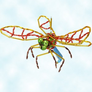 Radko Beaded Grand Dragonfly Ornament