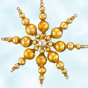 Radko Beaded Star Bursts Ornament