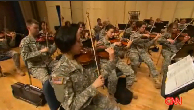 Army-Orchestra-Performs-Harolds-Symphony, November 11, 2012, Veterans Day