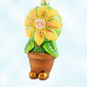 Patricia Breen Flower Pot Masquerade Ornament