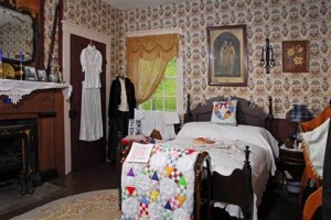 Bedroom in Anna Jarvis Museum