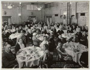 First Fahter's Day event, YMCA Spokane, Washington, 1910.