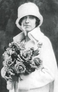 Sonora Doll Remembering Her Father with Roses, 1910