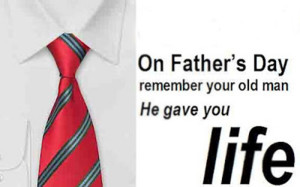 On Father's Day, give something to wear!