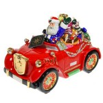 Christopher Radko Driving Santa