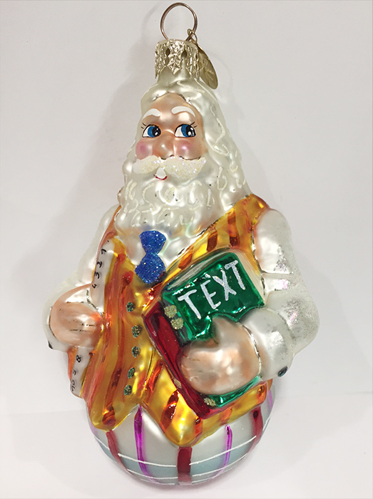 Christopher Radko Christmas Ornament Well Rounded