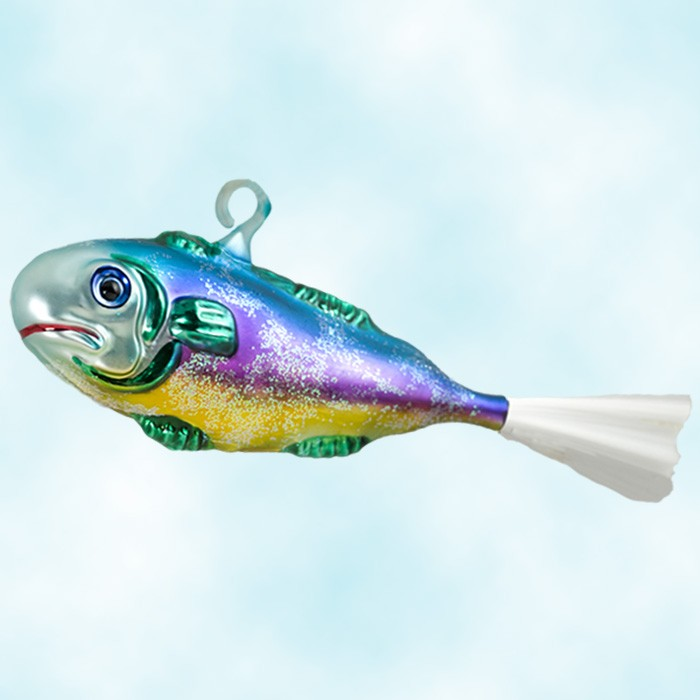 Radko christmas ornaments catch of the day for The fish 95 5