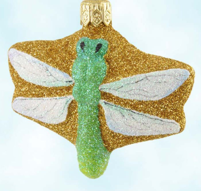 Patricia Breen Christmas Ornaments - Bugs - Dragonfly - fully ...