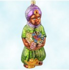Persian Delight, Christopher Radko Christmas Ornaments, 1997, 97-155-0, Magi prince, king, basket of jewels, oil lamp, Mint With Tag