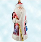 Siberian Snow Nick - Chicago Red Russian Santa, Radko Ornaments, 2003, 3010906, Brooks Brothers, cityscape, Christmas, Mint with Tag, Box