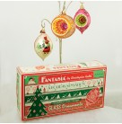 Fantasia Select Edition, Radko Ornaments, 2001, 01-FAN-CB, Limited 15000, gold, pin, blue drops, Christmas, Mint in Box