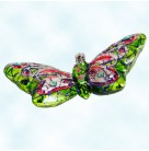 Flight of Paradise, Butterfly, Christopher Radko Christmas Ornaments, 2005, 1012184, Green, red, Christmas, Mint with Tag
