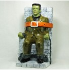 Frankenstein Monster Cookie Jar  - Gallery Collection, Treasure Craft, 1997, Ltd 1000, Universal Studios, Halloween, Mint