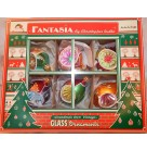 Kensington Glow - Ball Reflector Box Set of 6, 2001, 01-1088-0, Fantasia Series, Multicolored drops & balls w/ reflector, Mint in Box